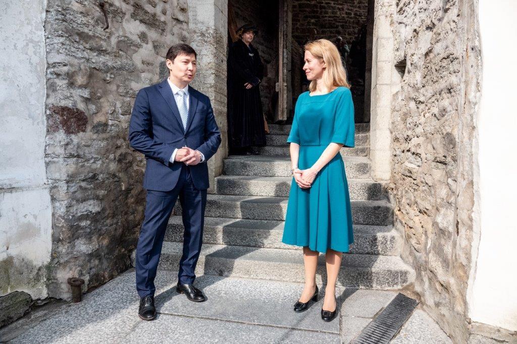 Peaminister Kaja Kallas ja linnapea Mihhail Kõlvart