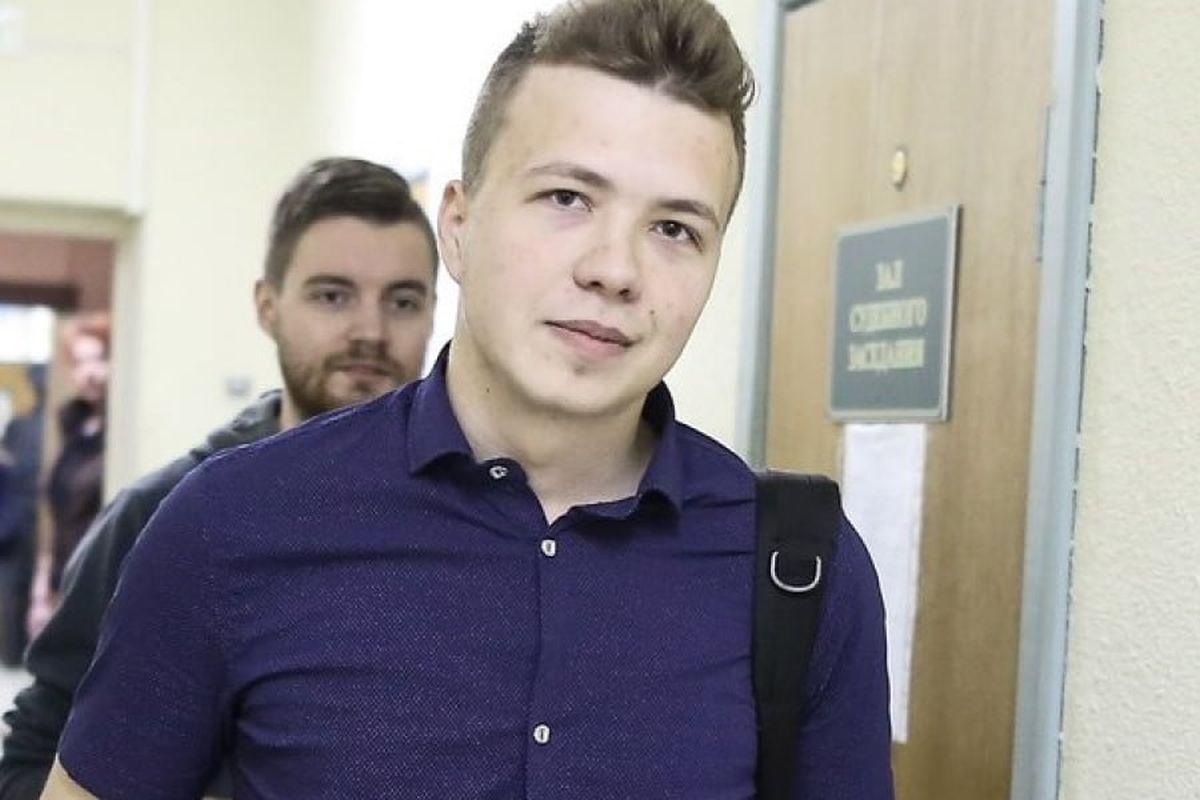 Euroopa ajakirjanikud nõuavad röövitud ajakirjaniku Protassevitši viivitamatut vabastamist