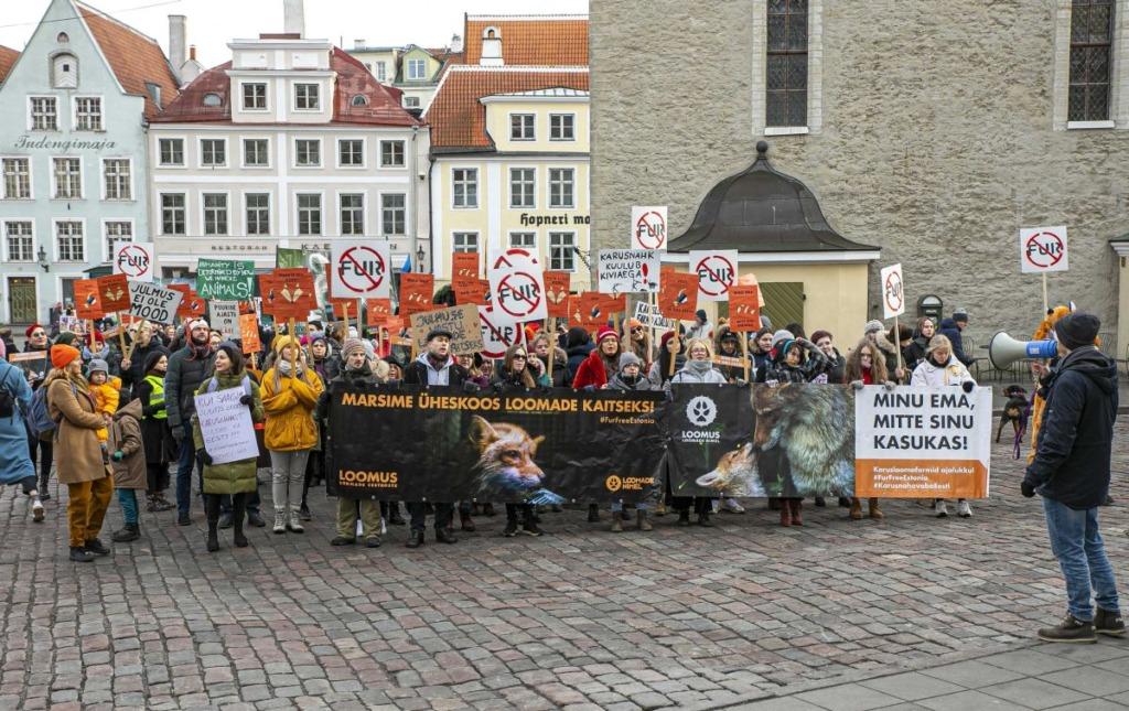 Loomus kutsub kolmapäeval riigikogu ette toetama karusloomafarmide keelustamist