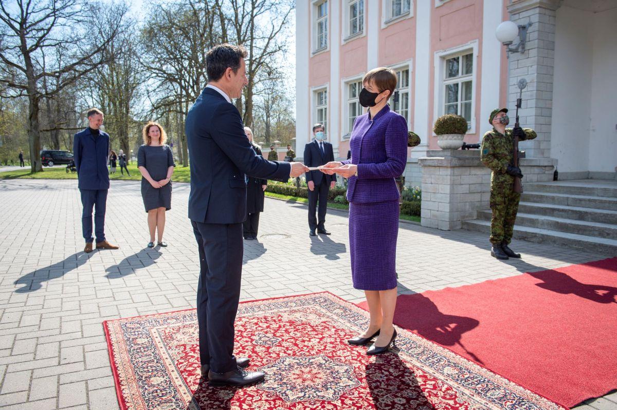 President võttis vastu Põhja-Makedoonia, Egiptuse, Indoneesia ja Tšiili suursaadikute volikirjad