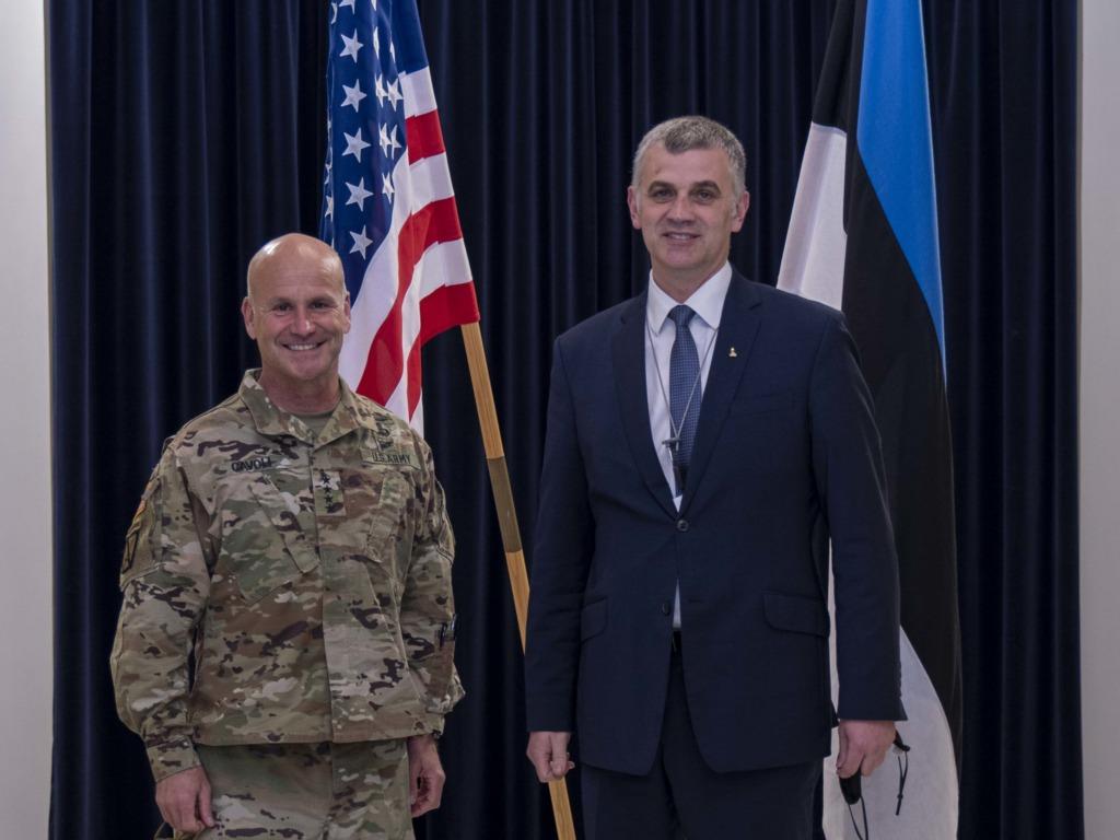 USA ja Eesti kaitseministrid.Kaitseministeerium