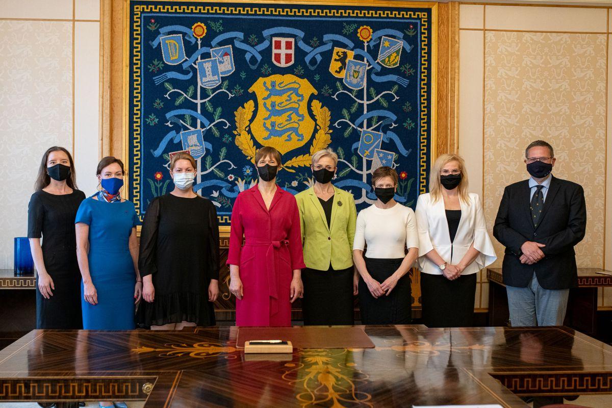 President Kaljulaid nimetas ametisse kuus kohtunikku