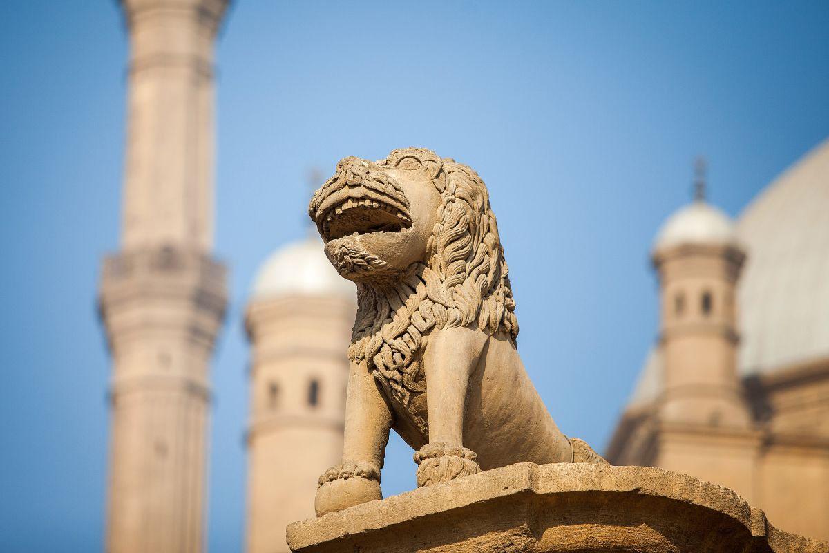 Saladin,Citadel,In,Cairo,Egypt,From,Outside