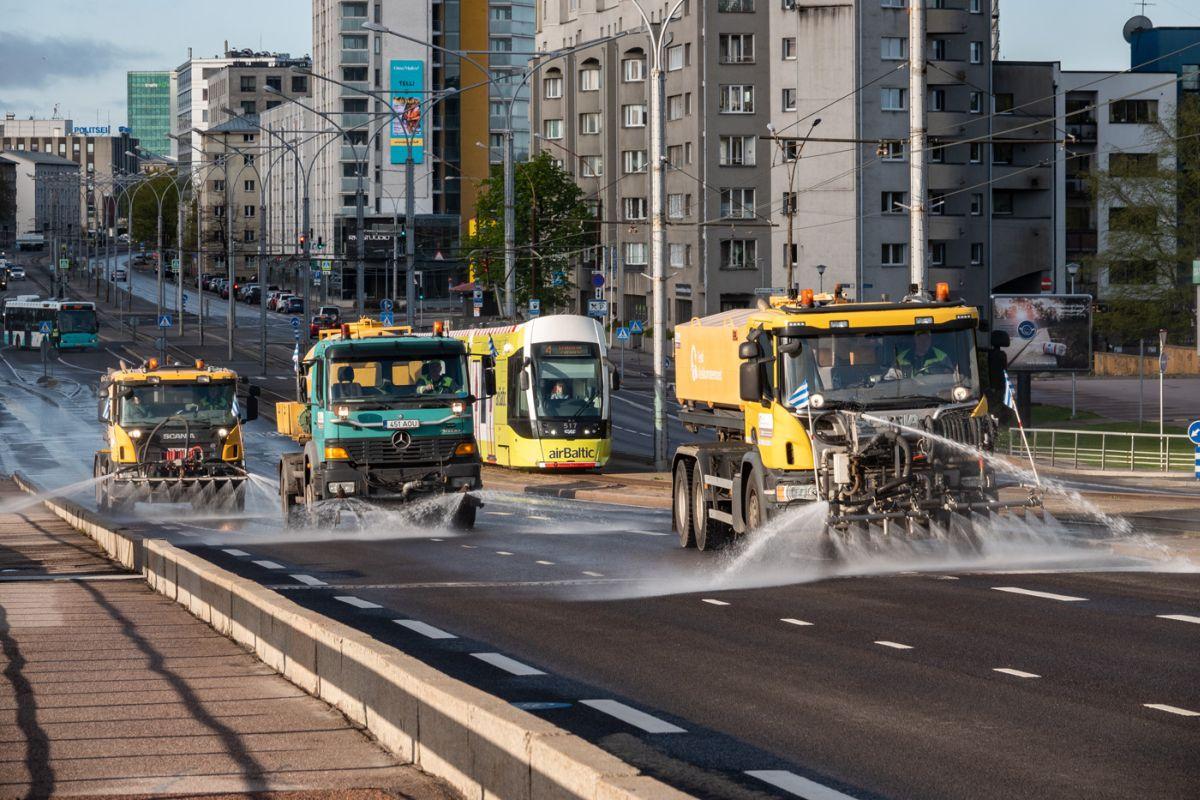 tänavapesuautod