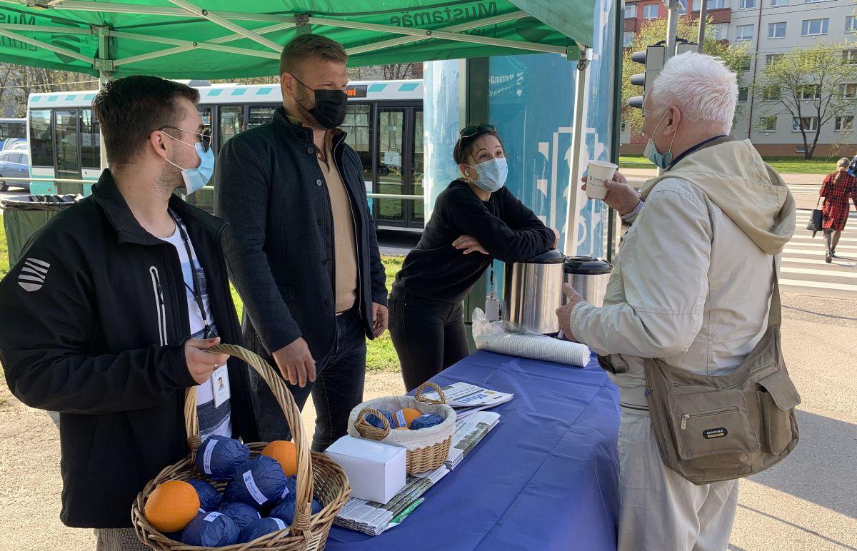 Mustamäe linnaosa valitsus avas elanikega suhtlemiseks välikontori