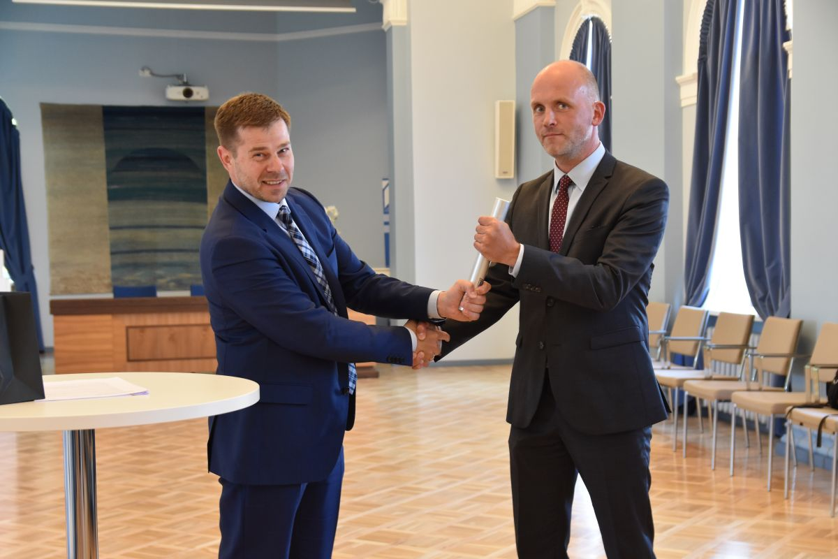 Kristian Jaani ja Taimar Peterkop