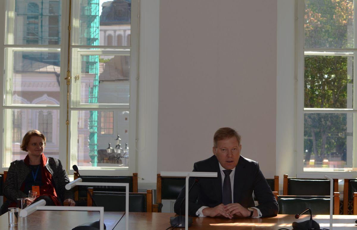 Väliskomisjoni esimees Marko Mihkelson on Balti ametikaaslastega ühisvisiidil Berliinis
