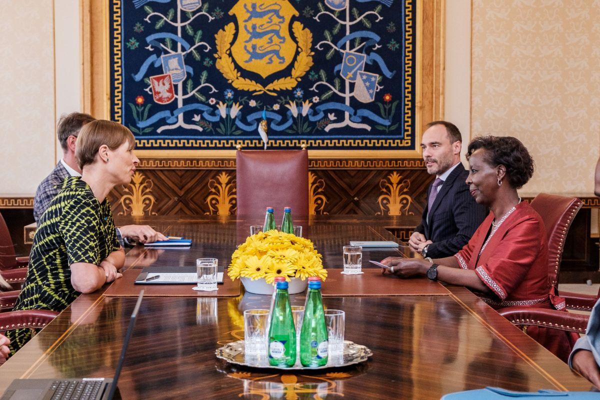 President kohtus prantsuskeelsete riikide ühenduse OIF-i peasekretäriga