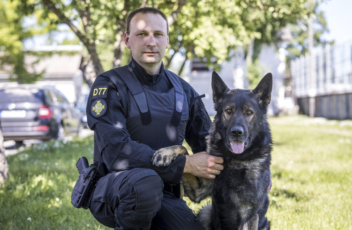 AUH! Politsei tunnustas parimaid koeri