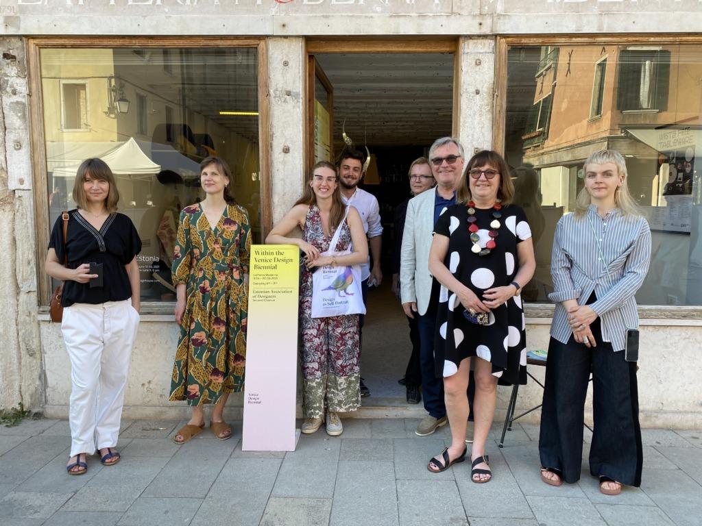 Veneetsias avati Eesti jätkusuutliku disaini näitus Teine võimalus
