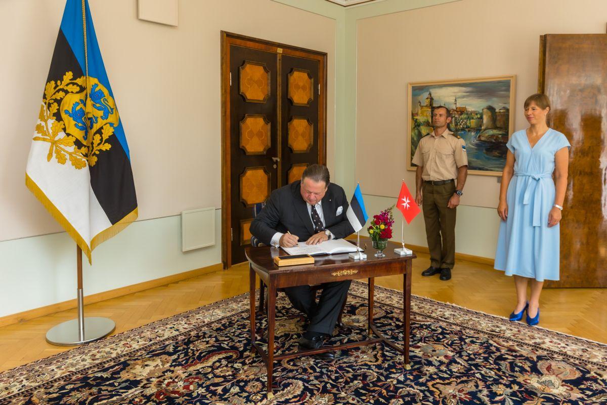 President Kaljulaid võttis vastu kolme suursaadiku volikirjad