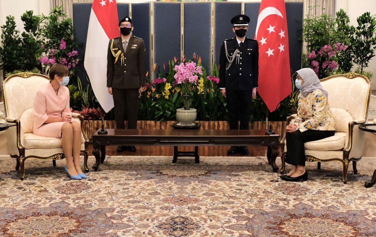 President Kaljulaid on visiidil Singapuris