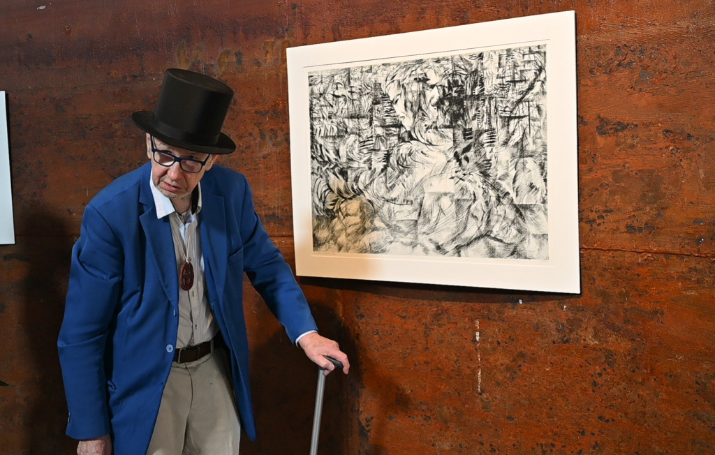 Tõnis Laanemaa näituse avamine – Tõnis Laanemaa (Foto Raido Krutto)