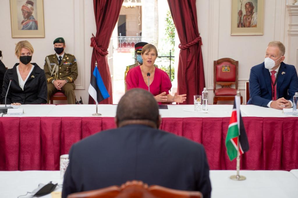 President Kaljulaid Keenias: see on paljude meie ettevõtete jaoks värav Aafrikasse