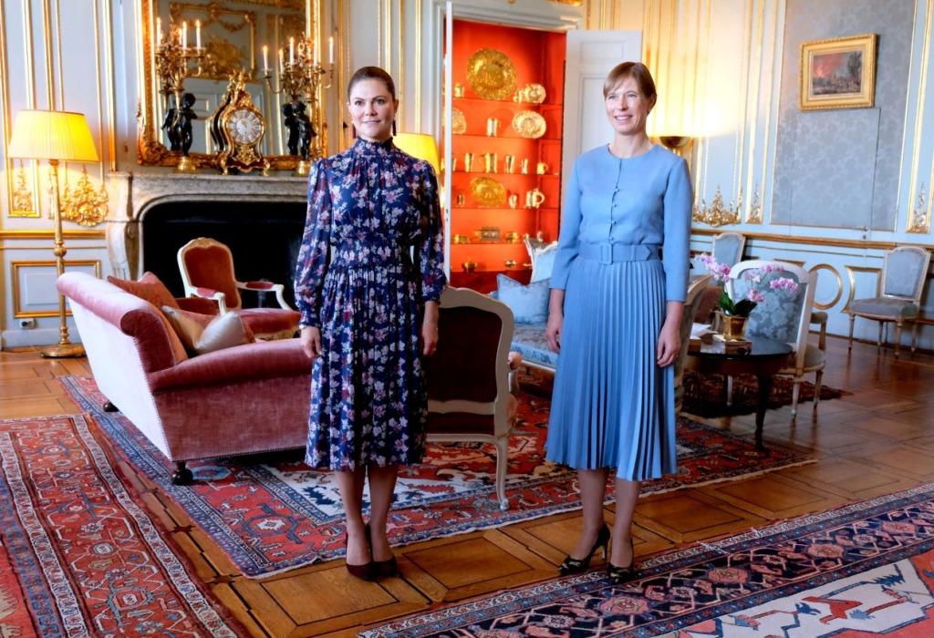Kersti Kaljulaid – Kohtumine kroonprintsess Victoriaga