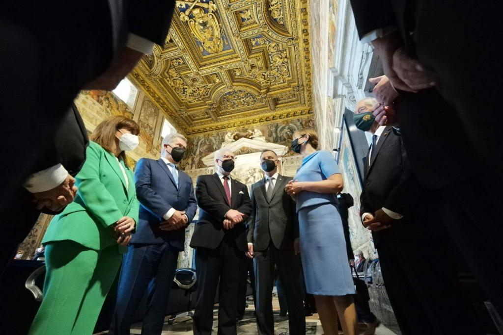 FOTOD I President Kaljulaid: Euroopa Liit on loodud demokraatlike väärtuste kaitseks ja seetõttu peaksime ka strateegilisest autonoomiast rääkides keskenduma üleilmsele inimõiguste kaitsele