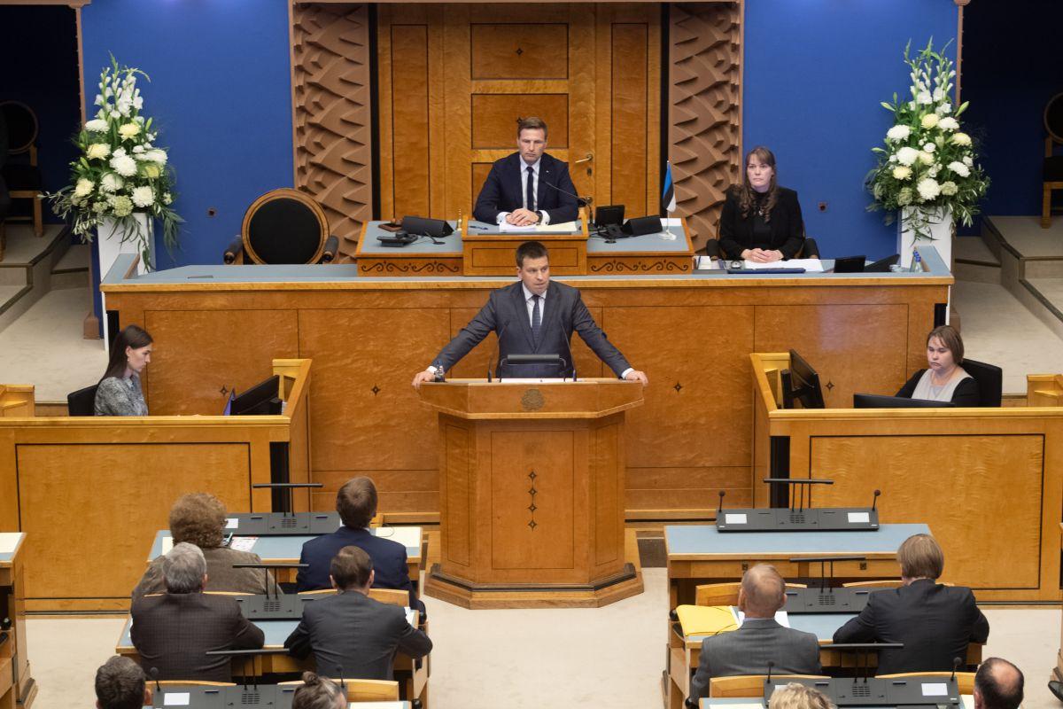 Riigikogus oli toimekas päev: elektrituruseadus, teemaks, ehitusseadustik