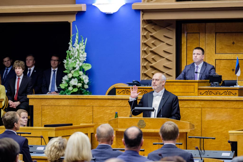 FOTOD I Vabariigi President Alar Karis: tahan presidendina olla tasakaalustaja ja vajadusel lepitaja