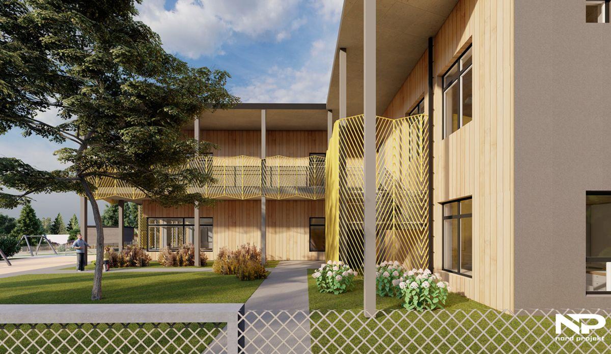 Merivälja lasteaiale ehitatakse 5 miljoni euro eest uus hoone